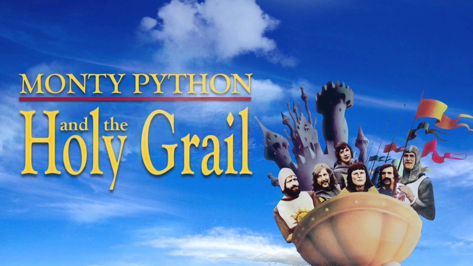 Poster Monty Python And The Holy Grail NO Sound
