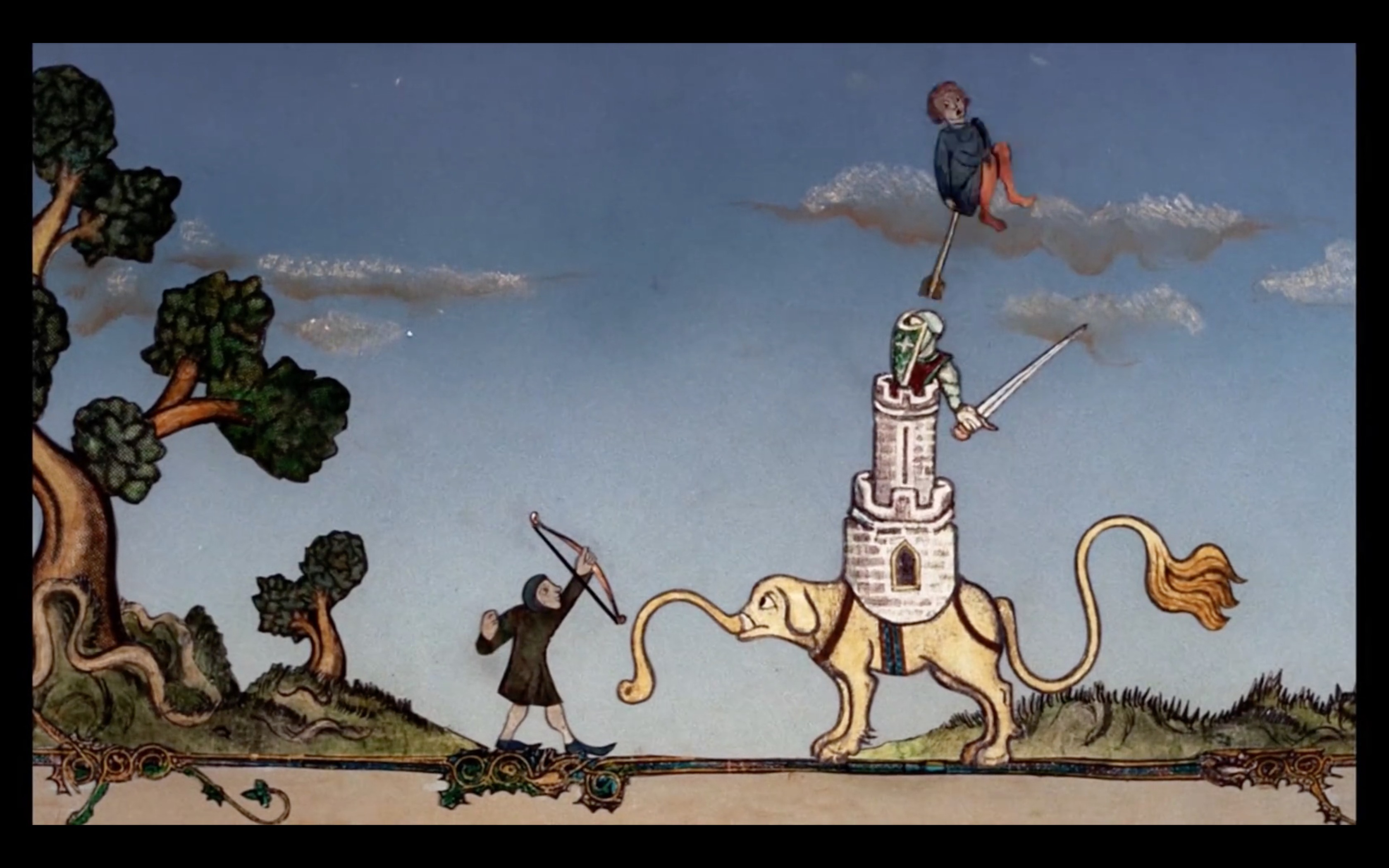 Terry Gilliam's Deleted Animations from Monty Python & The Holy Grail