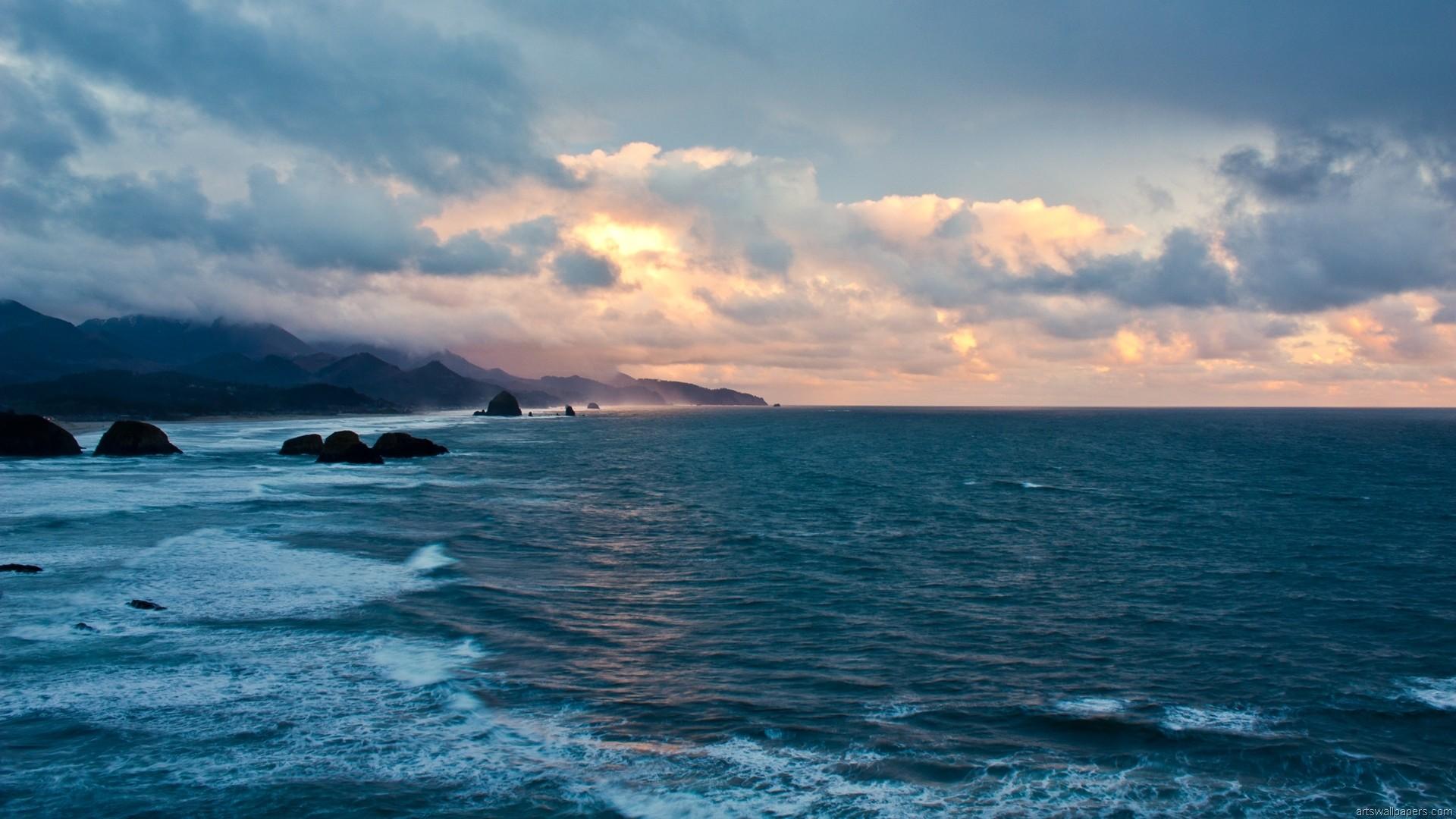 Sea Ocean Wallpaper, HD, Full HD 1080p, Desktop Wallpaper, Background .