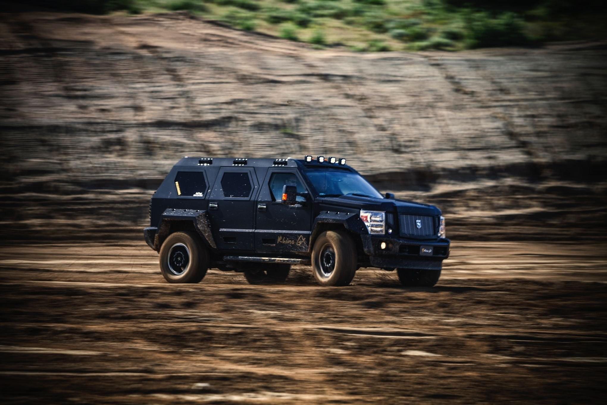 2006 Ussv Rhino Gx Ford F450 Four Wheeler Stuart Bourdon suv 4×4 armored  wallpaper | | 987420 | WallpaperUP