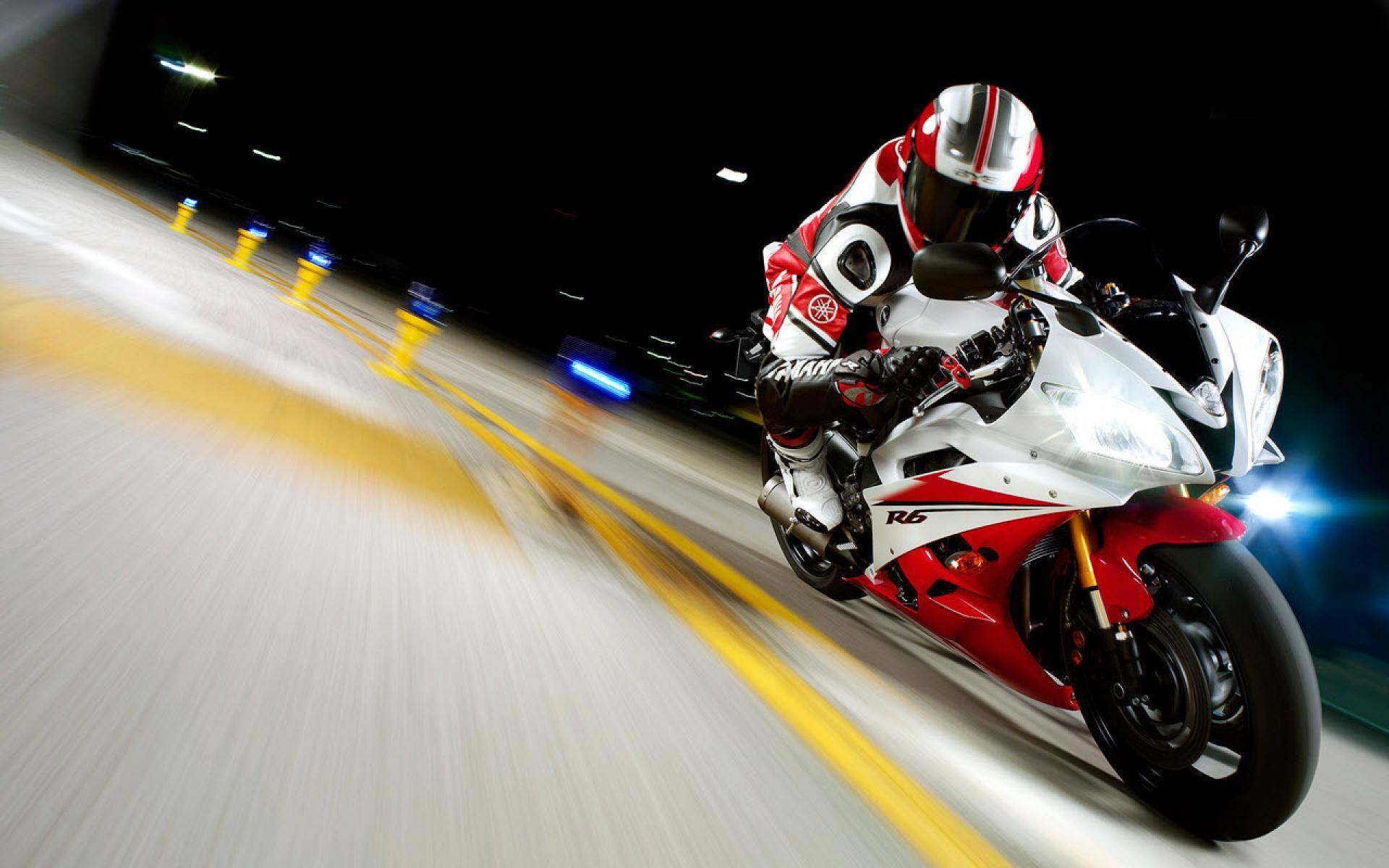 Yamaha YZFR6 Race Wide – 1080p HD Wallpaper