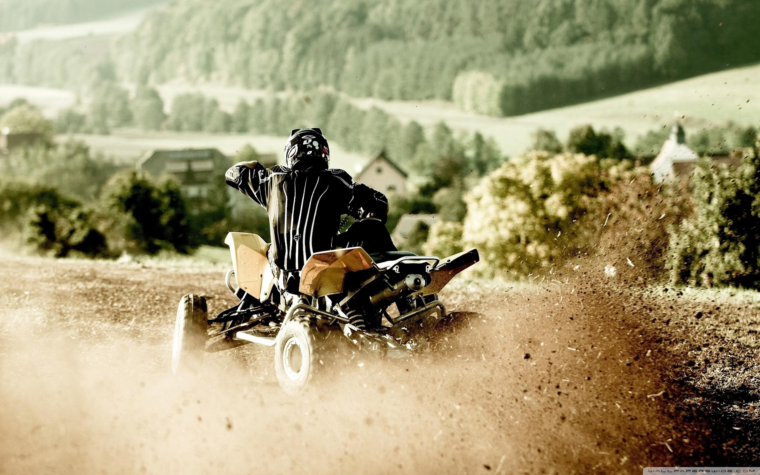 ATV Ride HD Wide Wallpaper for Widescreen