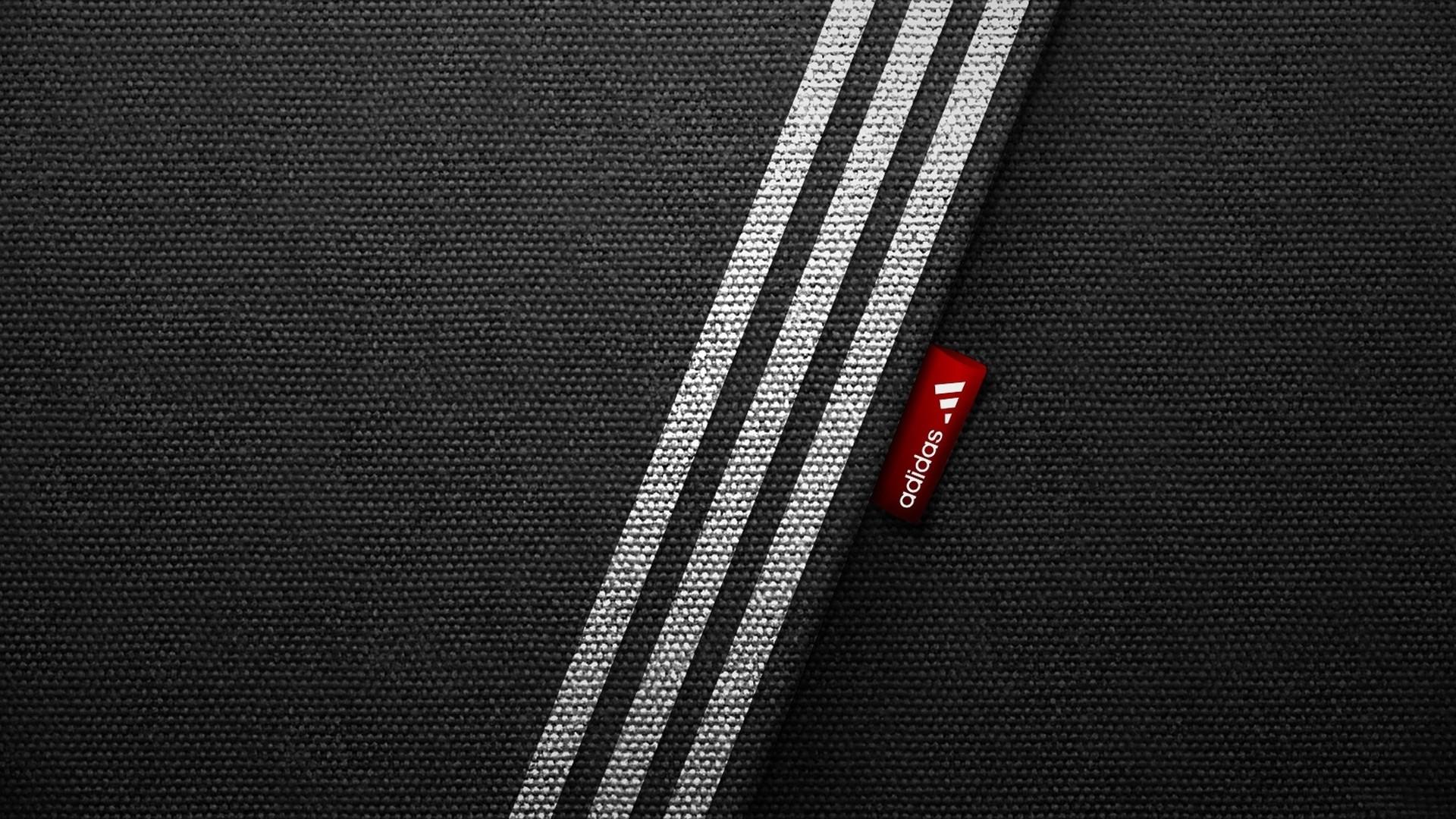 Preview wallpaper adidas, brand, logo, sports, minimalism 1920×1080