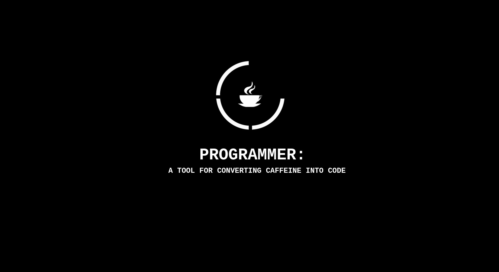 Technology – Computer Black Coffee Wallpaper