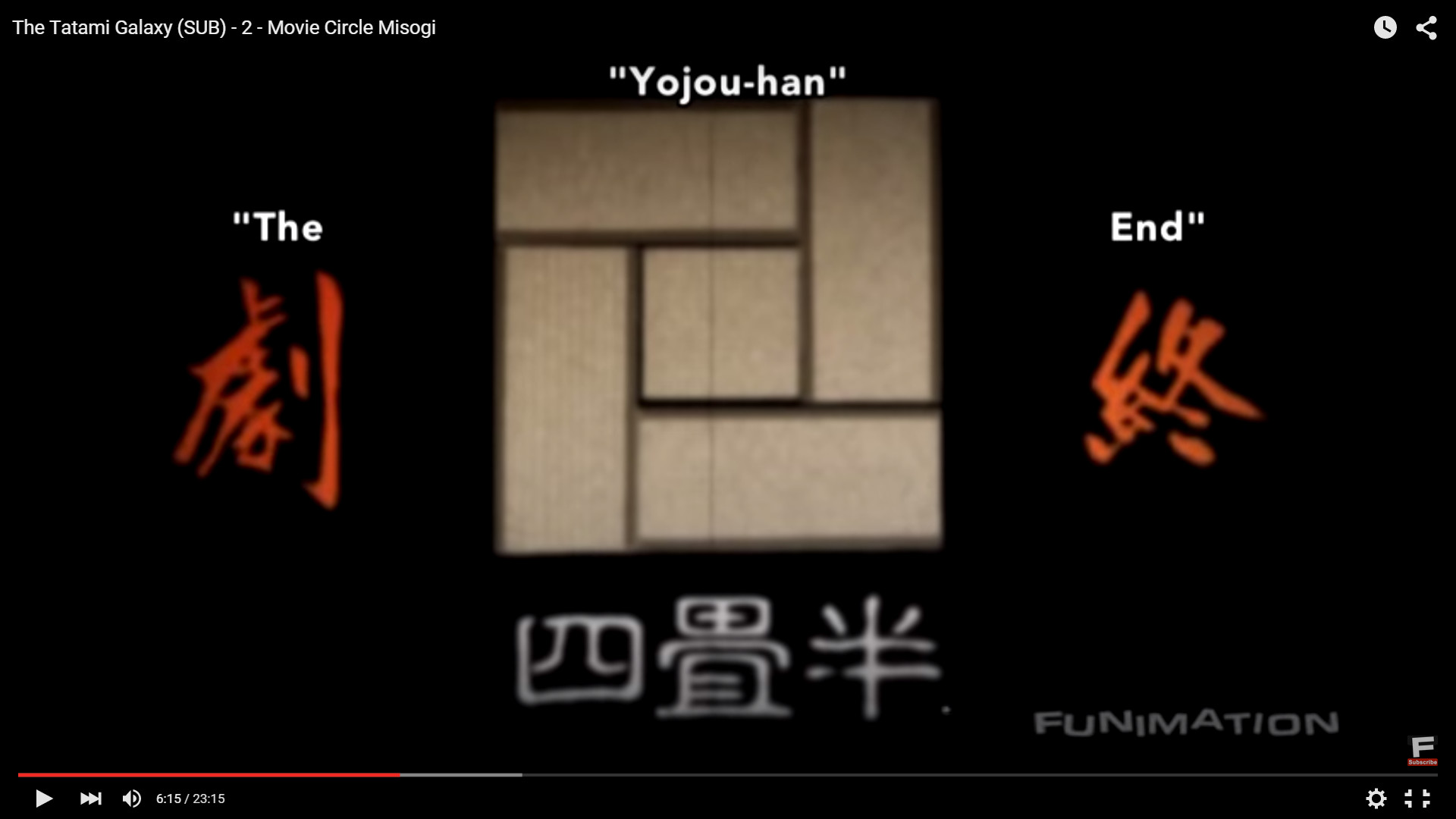 … Misogi movie circle's symbol/logo shows a five square pattern with a  symbol in the center, and the show's picture on MAL even has a five square  pattern, …