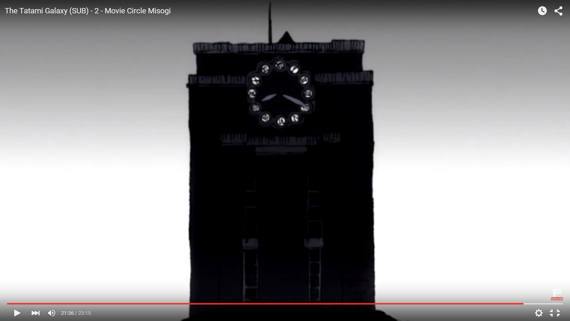 """… although it's different from the other """"looping tatami"""" symbols in this  episode. Also, the clock tower at the end always begins its rewind when the  …"""