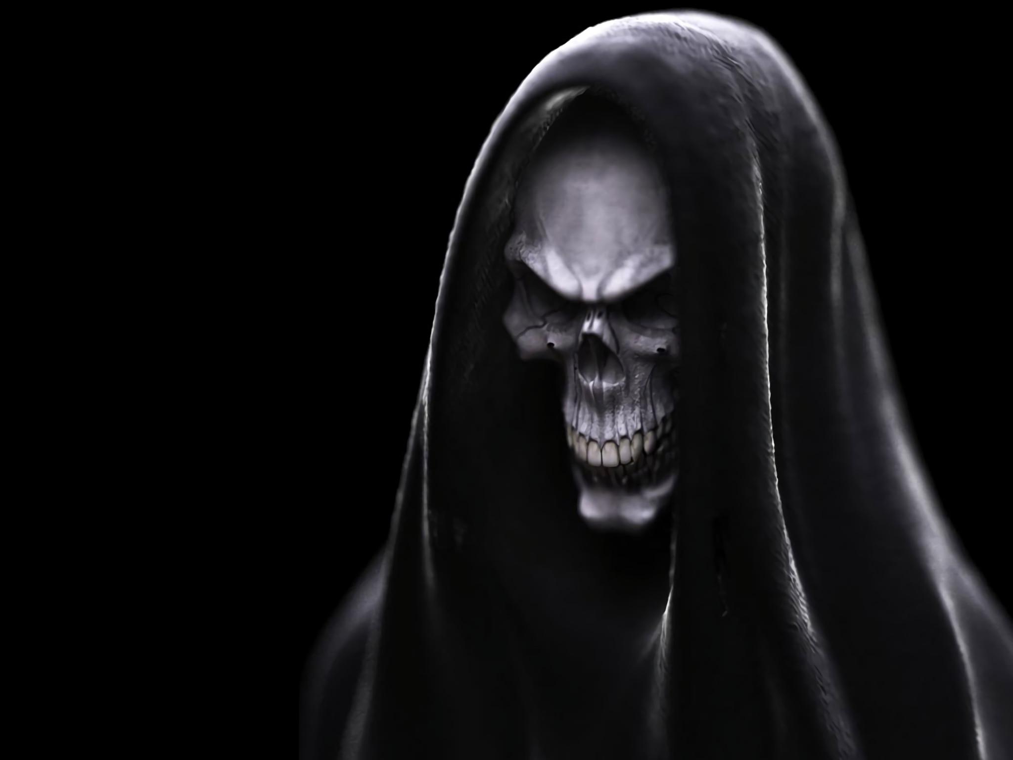 HD Wallpaper | Background ID:7949. Dark Skull