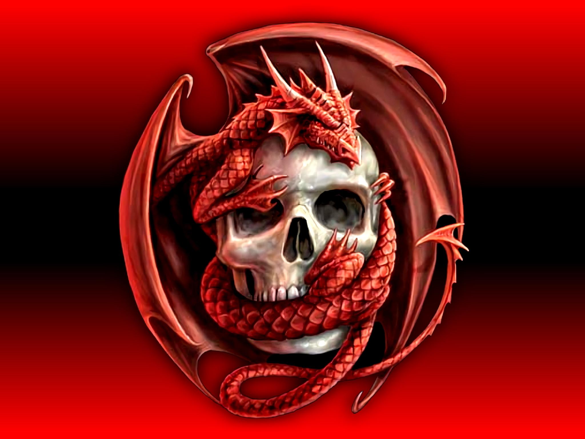 HD Wallpaper | Background ID:27403. Dark Skull