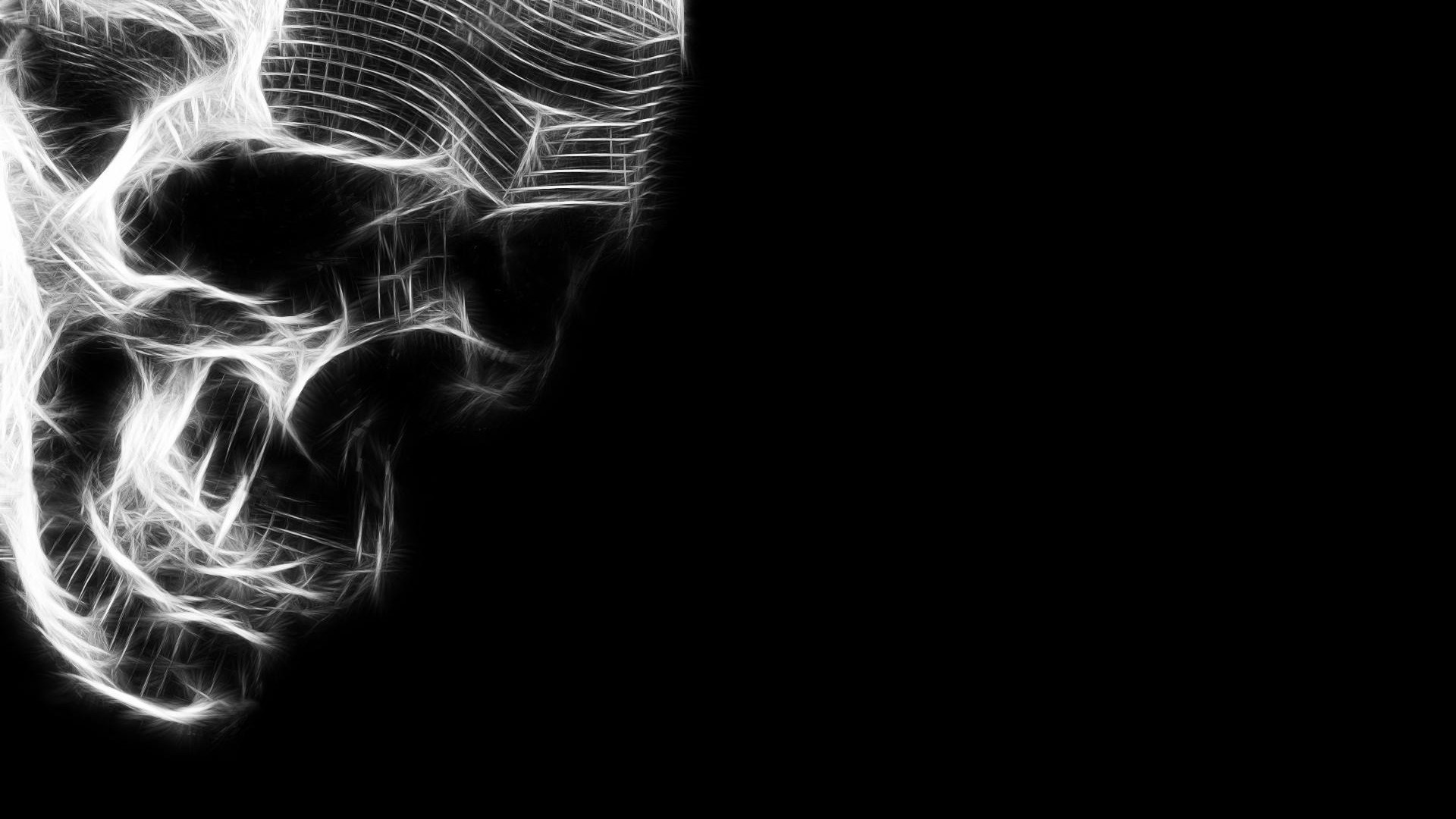 skull hd widescreen wallpapers for laptop