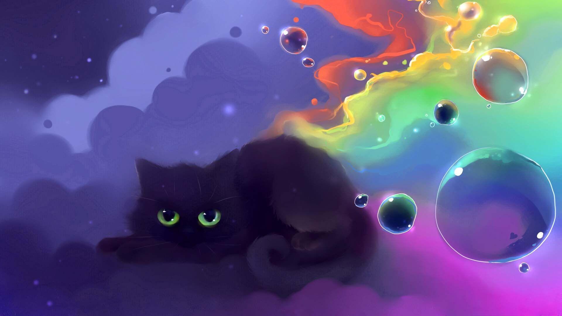 Apofiss Cat, cute, cartoon, funny, HD Wallpaper and FREE .