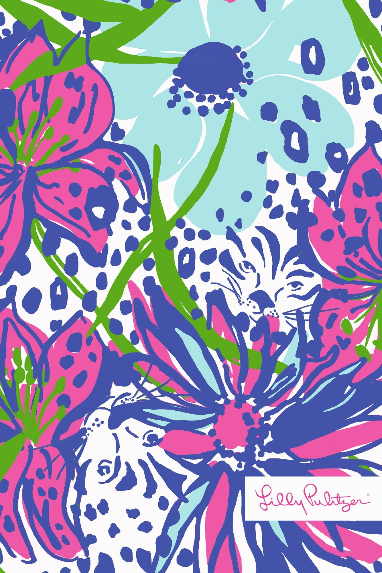 Lilly-Pulitzer-In-the-Garden-wallpaper-for-iPhone-