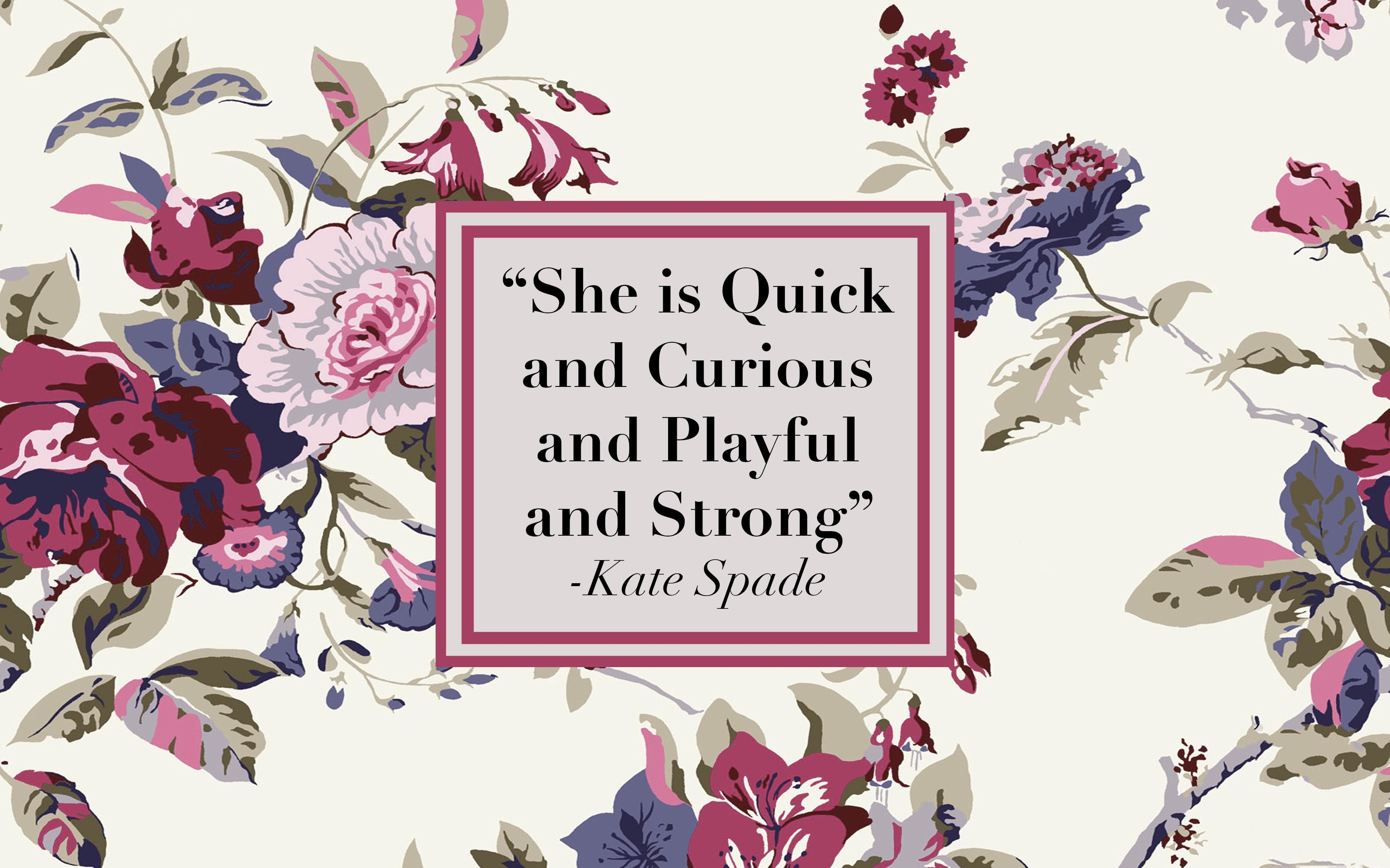 Motivational Wallpapers 04 Wallpaper and Kate spade