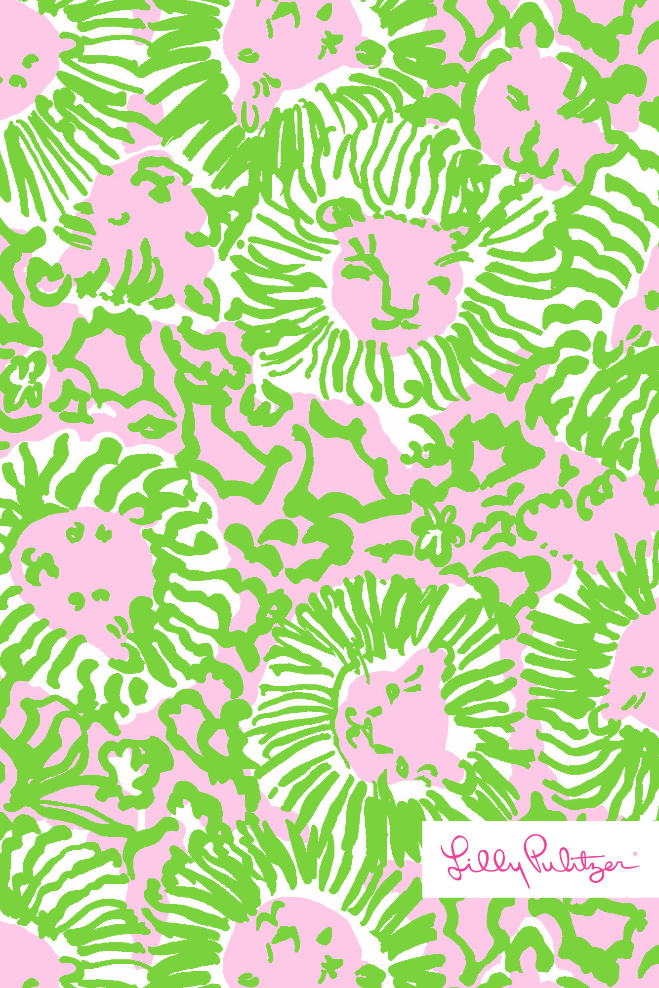 Lilly Pulitzer Sunny Side wallpaper for iPhone