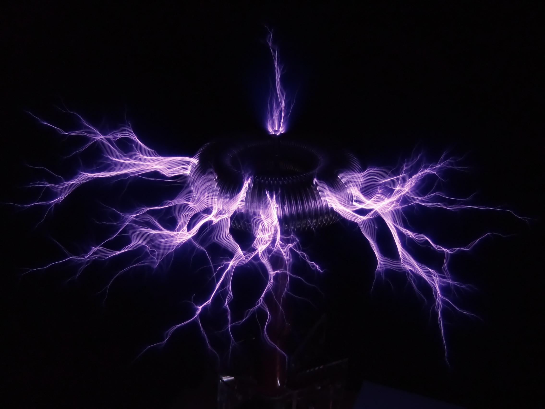 Back > Wallpapers For > Nikola Tesla Coil Wallpaper