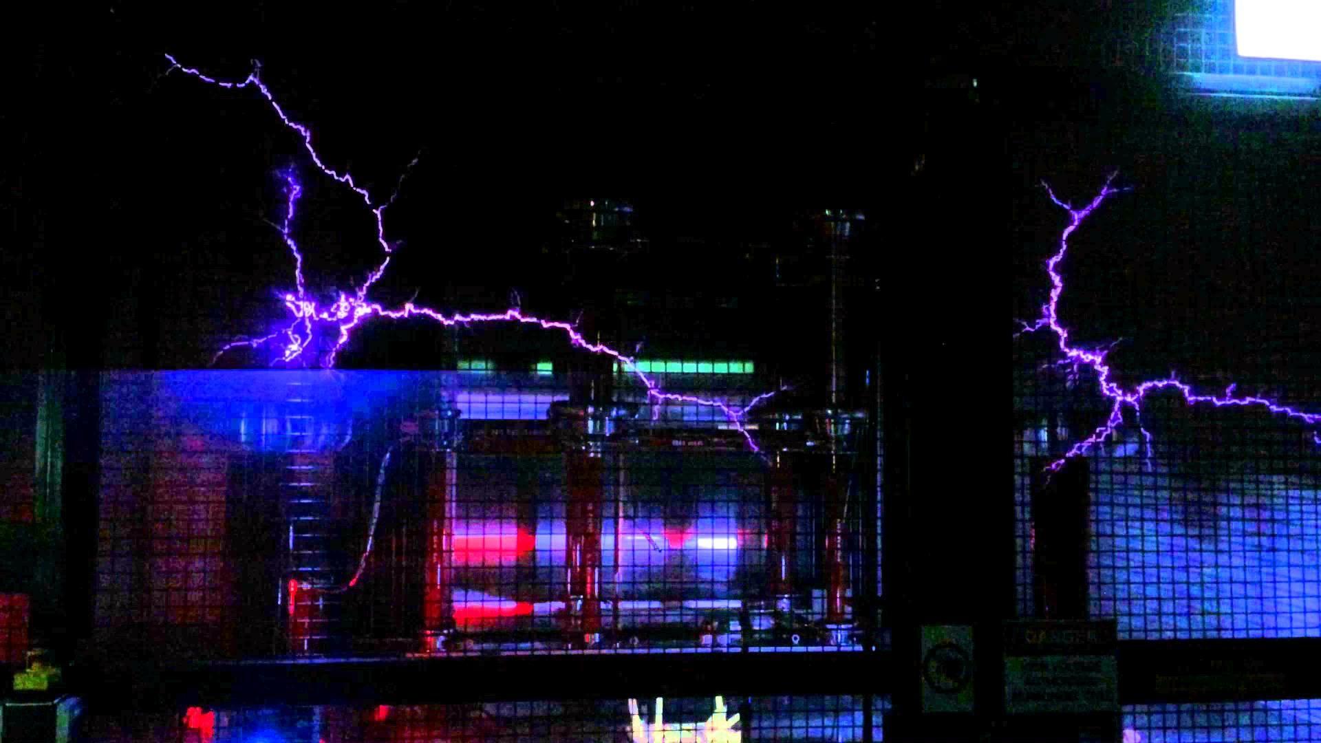 Deakin University High Voltage Test Lab – Musical Tesla Coils