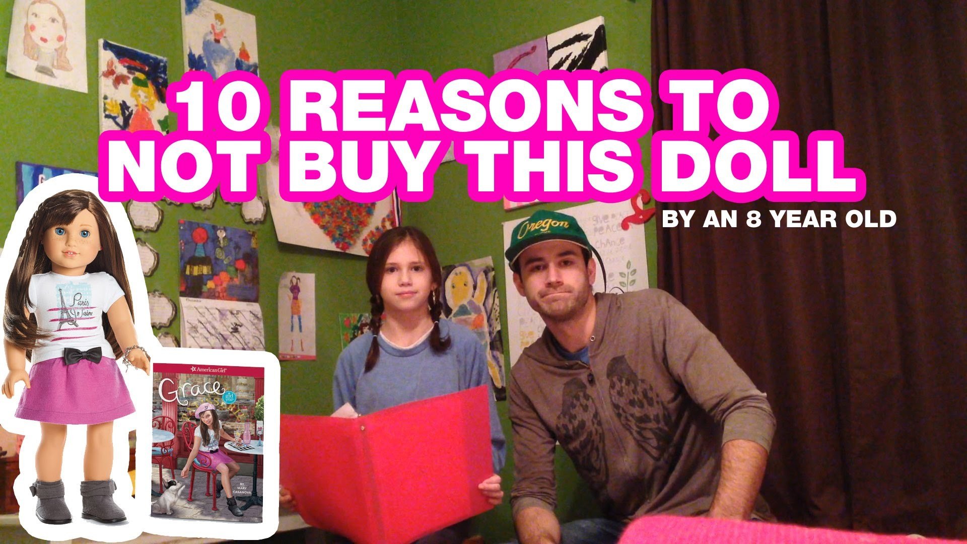 10 Reasons to NOT buy Grace Thomas 2015 American Girl Doll – by an 8 Year  old girl. – YouTube