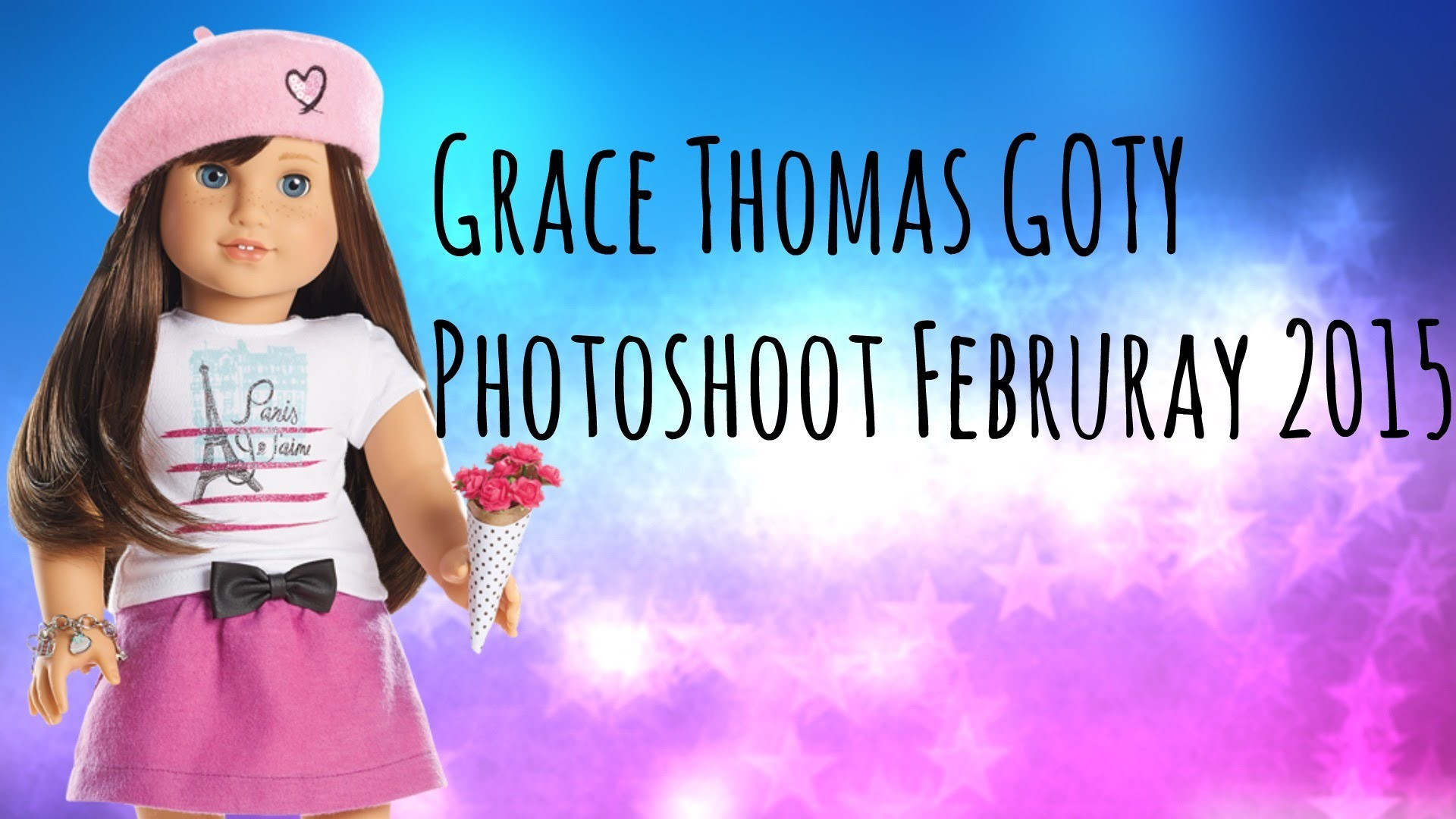 American Girl Grace Thomas GOTY Photoshoot & Slideshow!