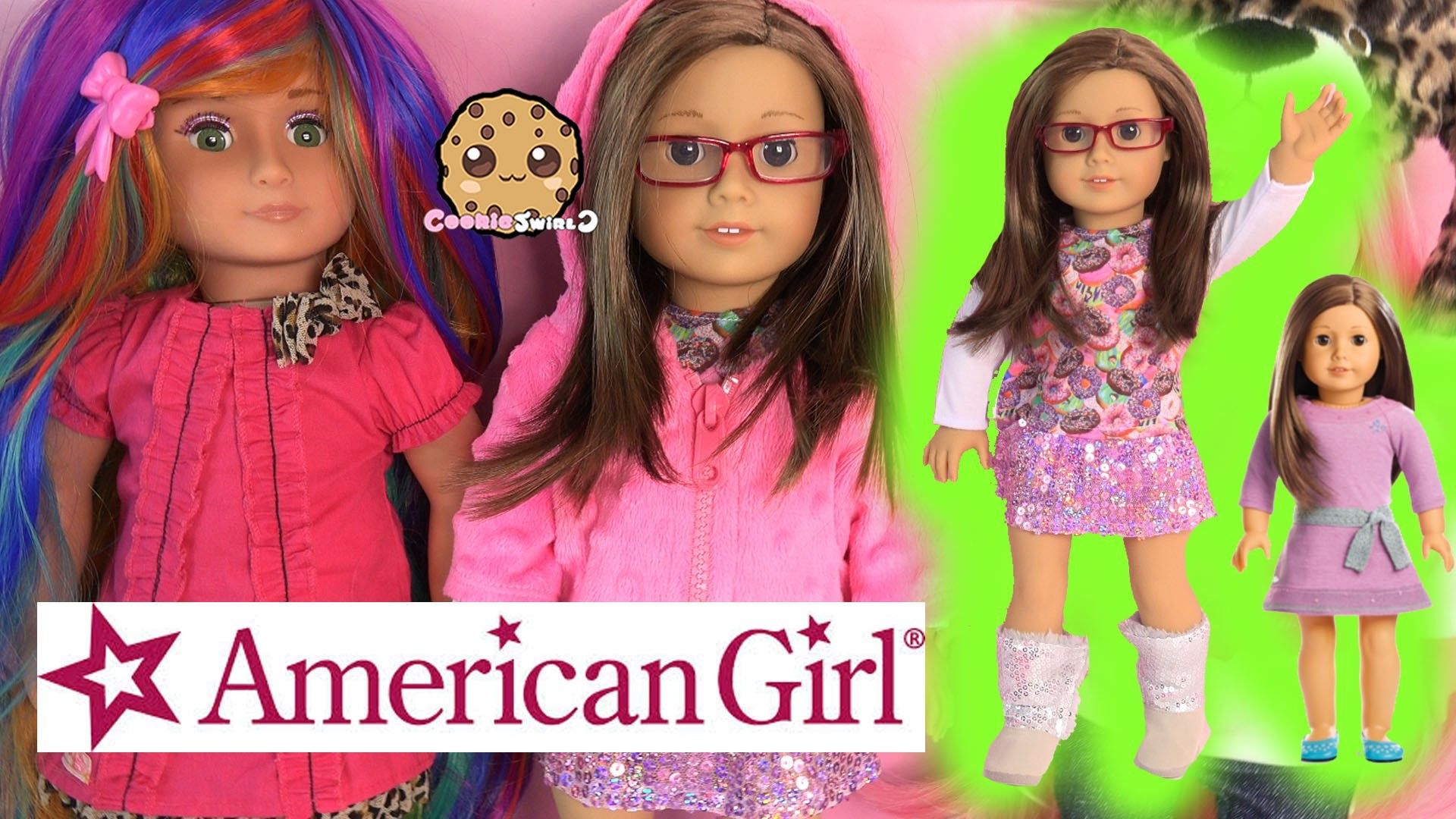 American Girl Truly Me Collection Doll + Fashion + Custom 18 Inch Dolls –  Cookieswirlc Toy Video – YouTube