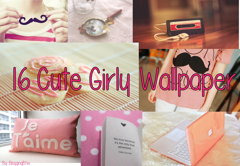 16 Cute Girly Wallpaper by BloqqinqBtw 16 Cute Girly Wallpaper by  BloqqinqBtw