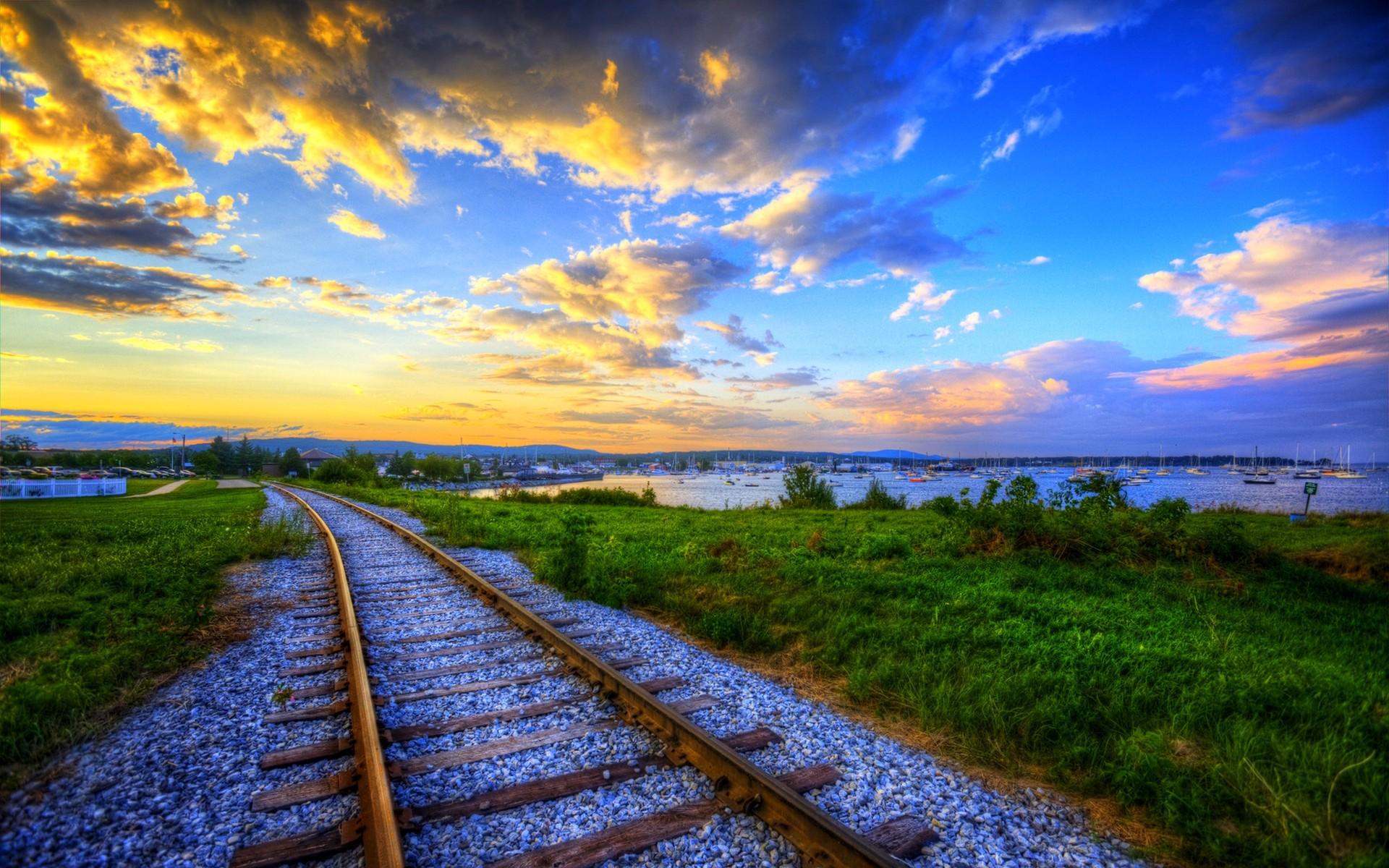 Train Track Wallpaper HD 37974