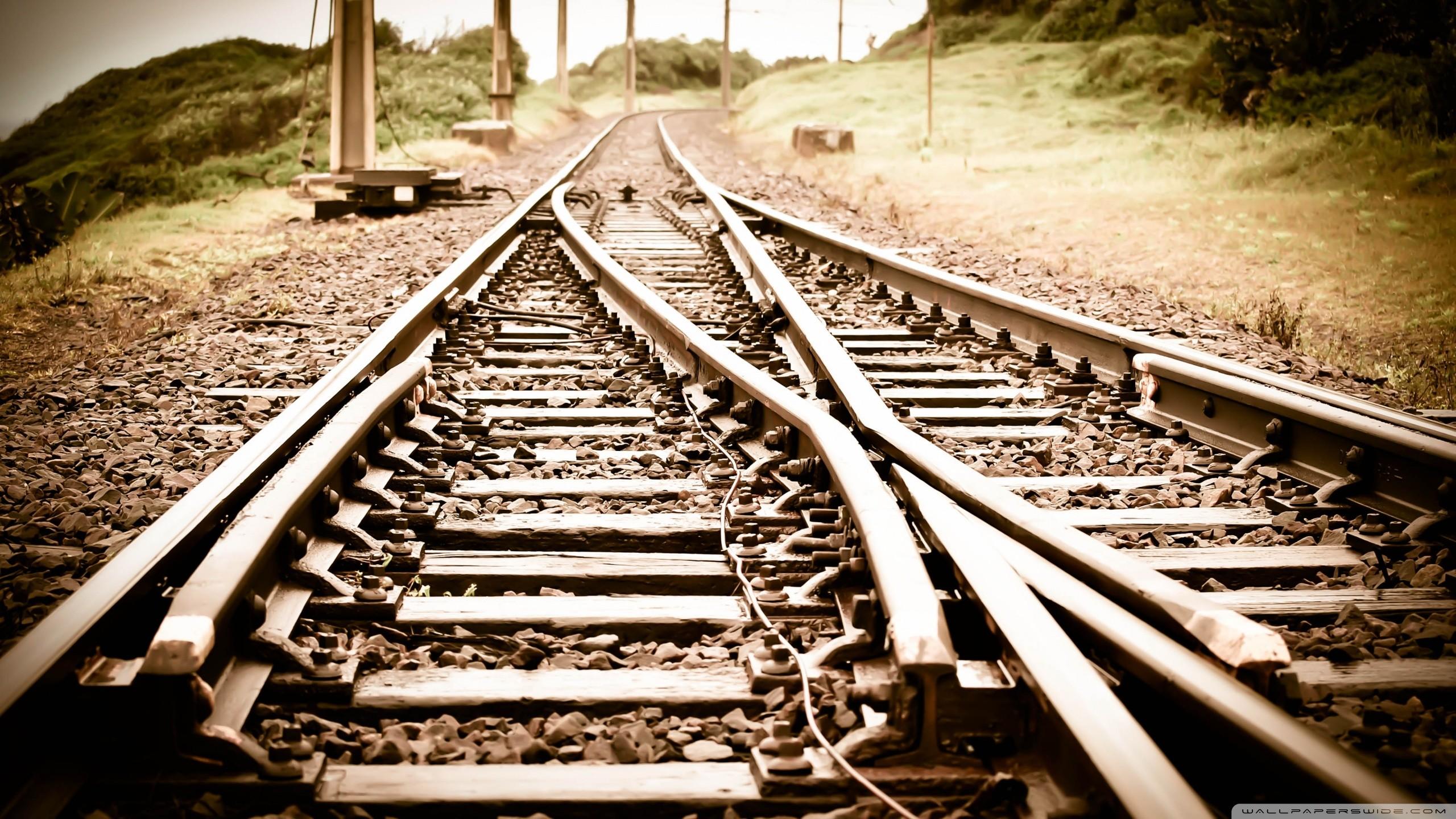 … train tracks hd desktop wallpaper widescreen high definition …