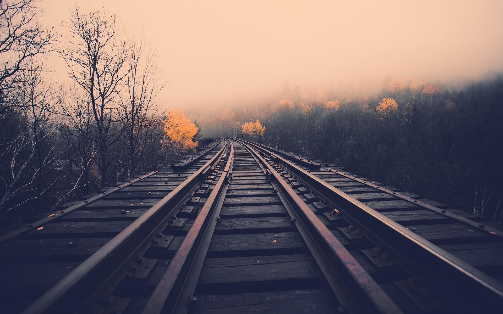 Train Tracks [1920×1200] …