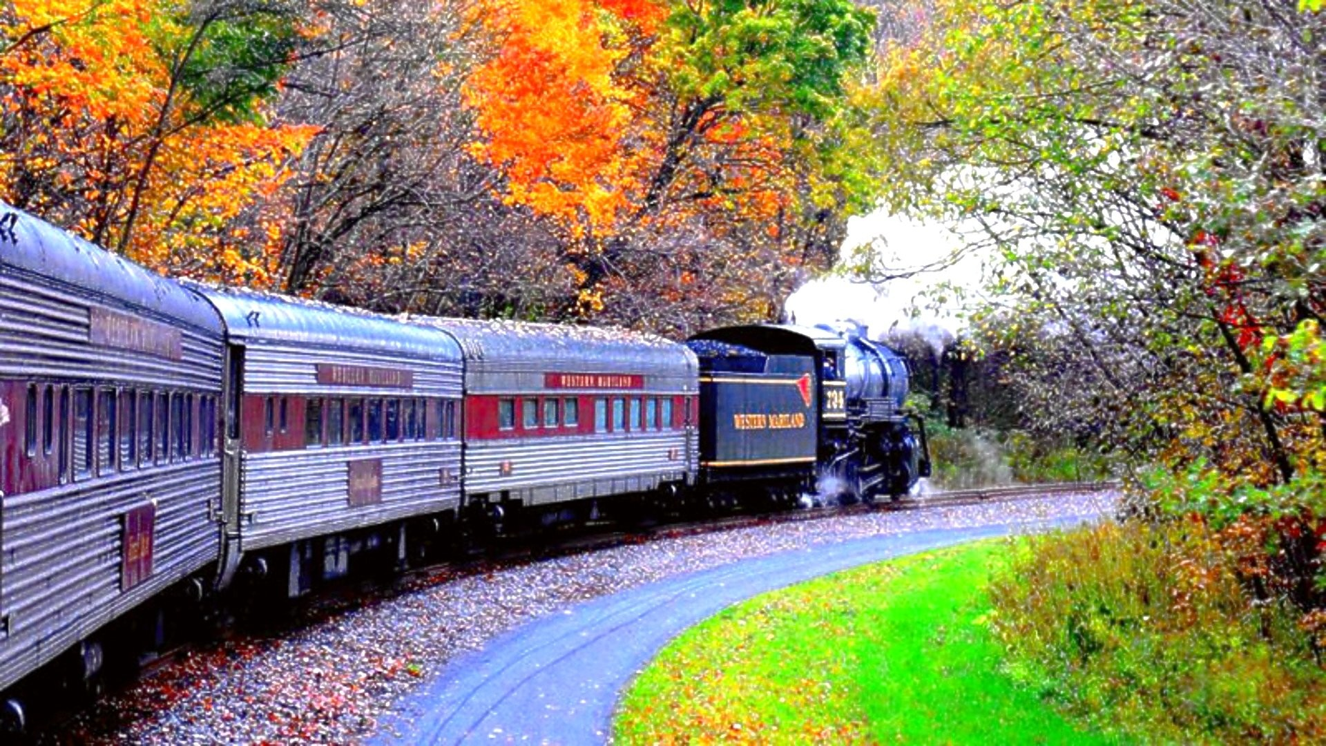 Train Tumblr Wallpaper