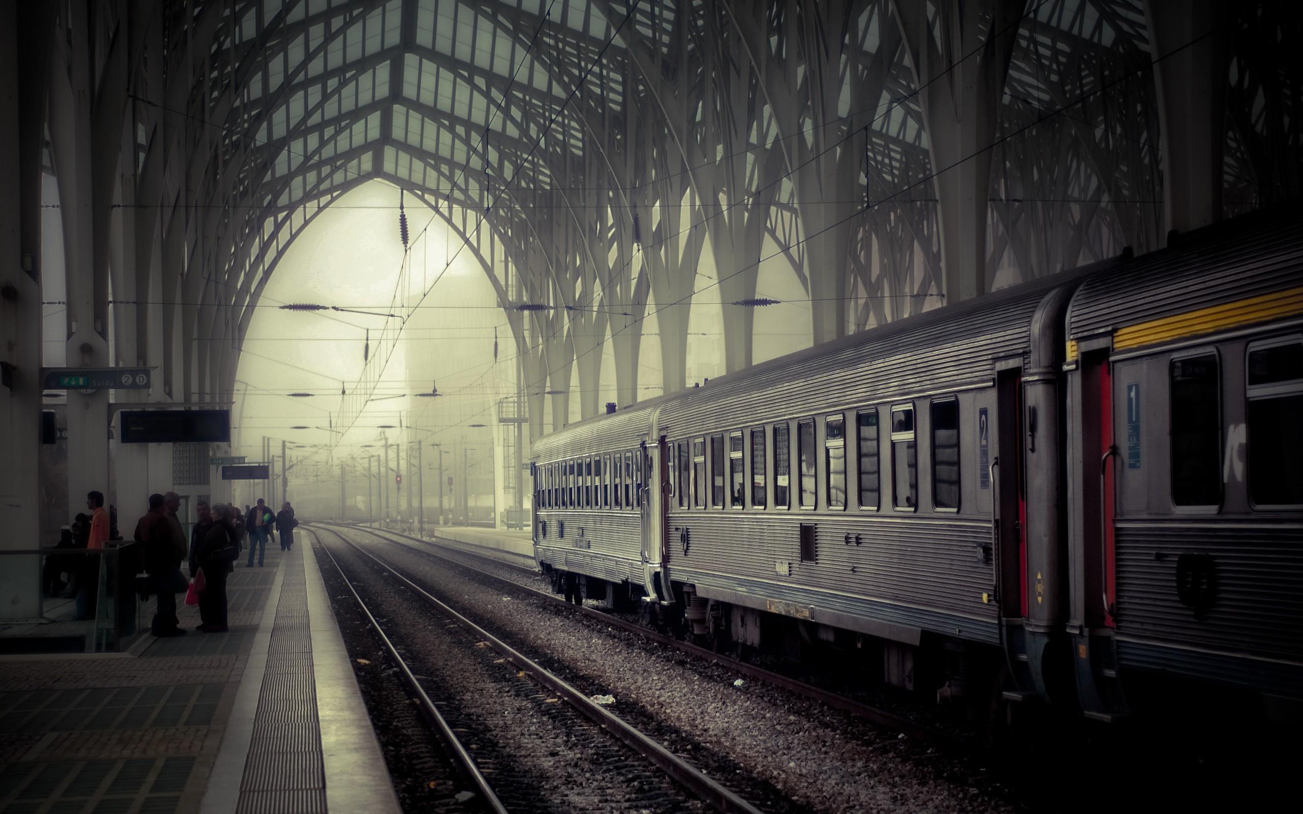 Train Station Wallpaper Background 49177