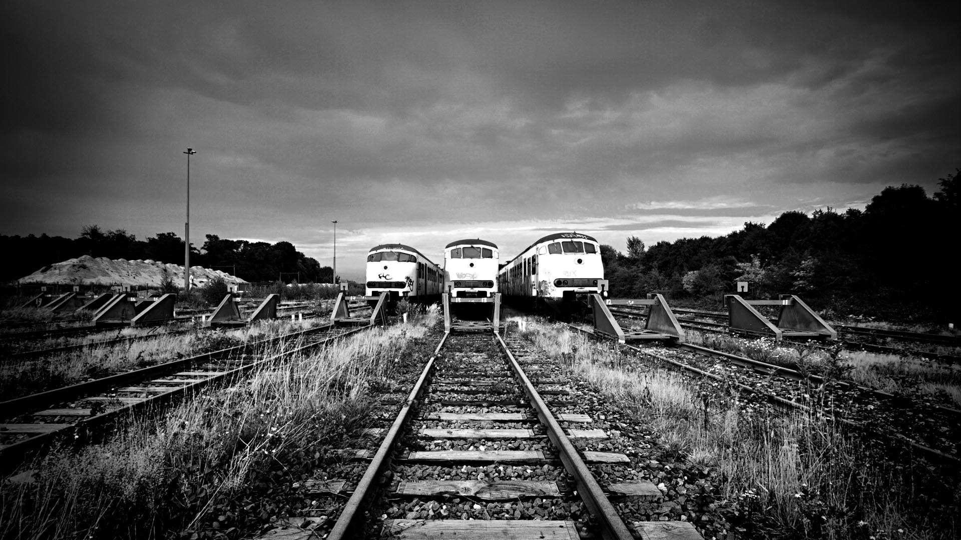 Dutch Railroad Tracks and Trains Dutch Railroad Tracks and Trains HD  Wallpaper