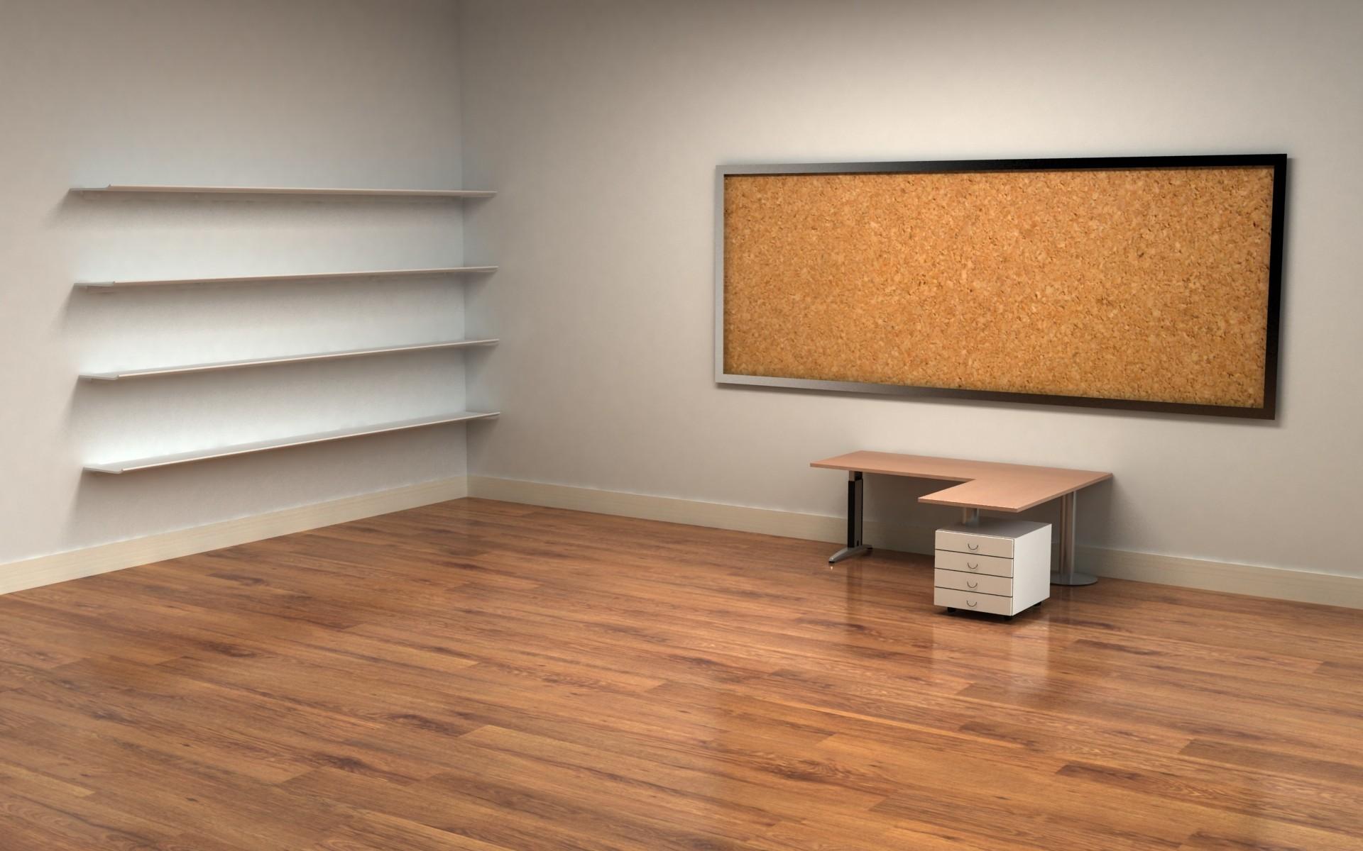 Empty office wallpaper