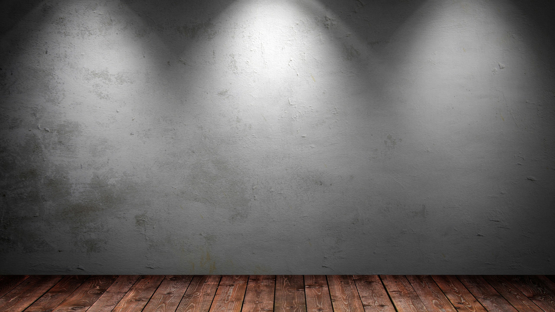 Backgrounds with Walls and Wood Floor