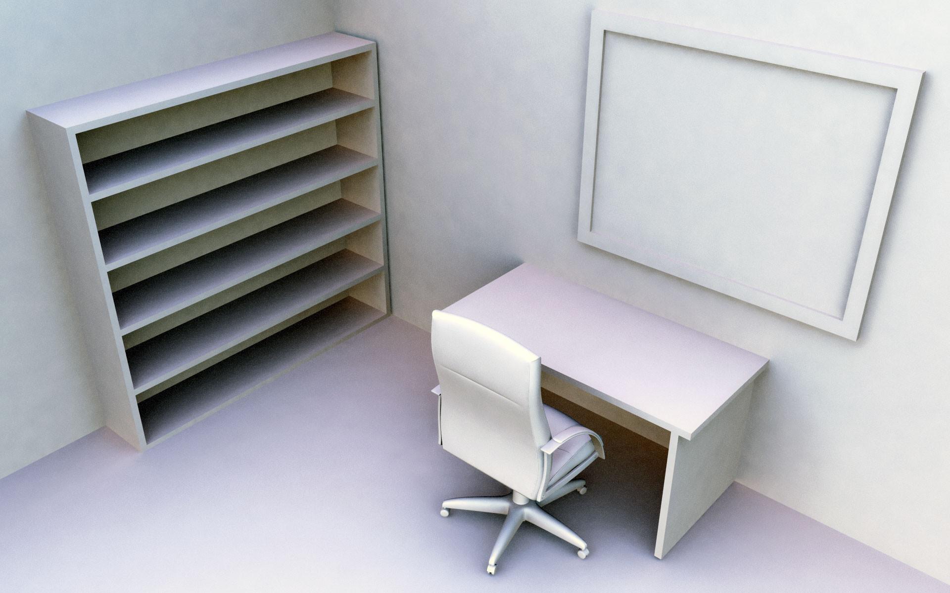 … empty bookshelf wallpaper office …