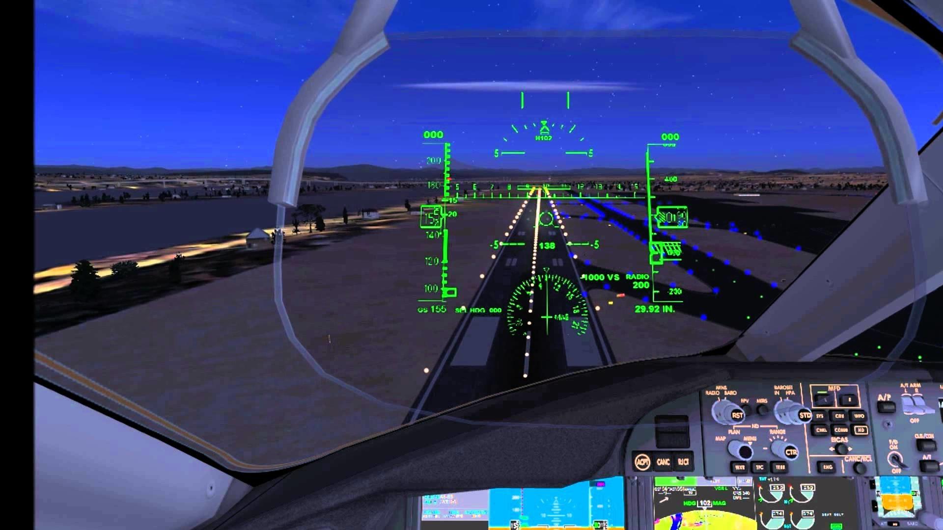 (HD) FSX 787-8 Cockpit Landing! – YouTube
