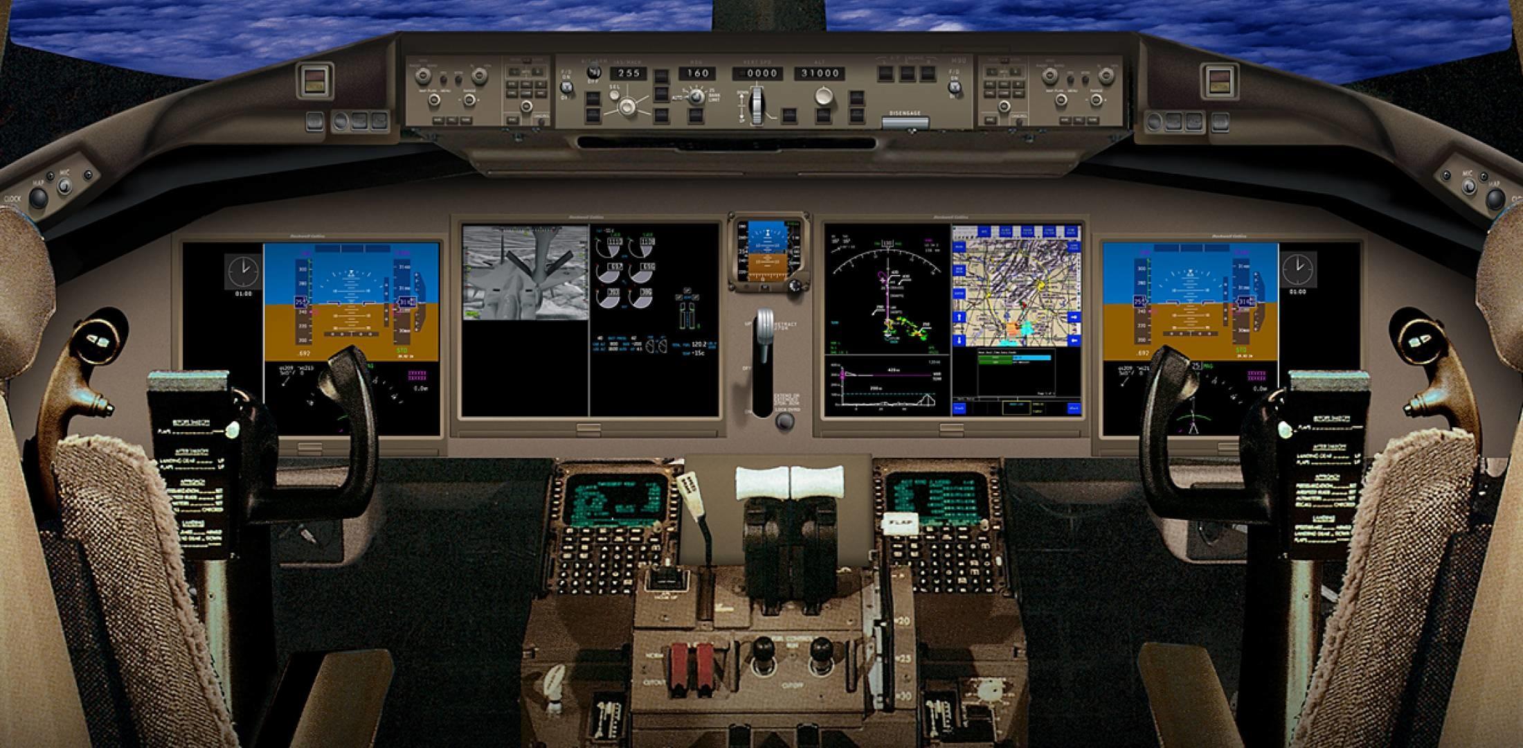 Barack In A Boeing 787 Cockpit Jpg Wikimedia Mons