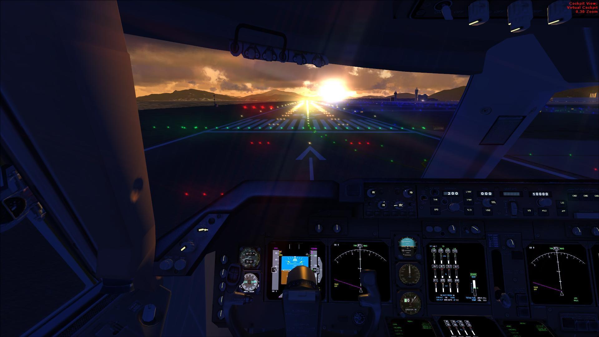 Boeing 737 Cockpit Make A Great Desktop Wallpaper Planes