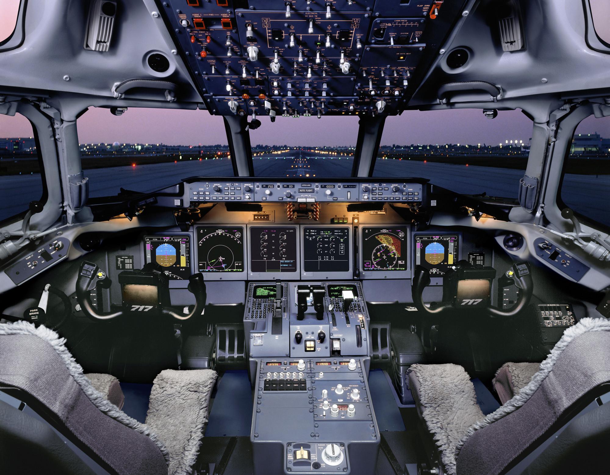 overheard in the flight deck