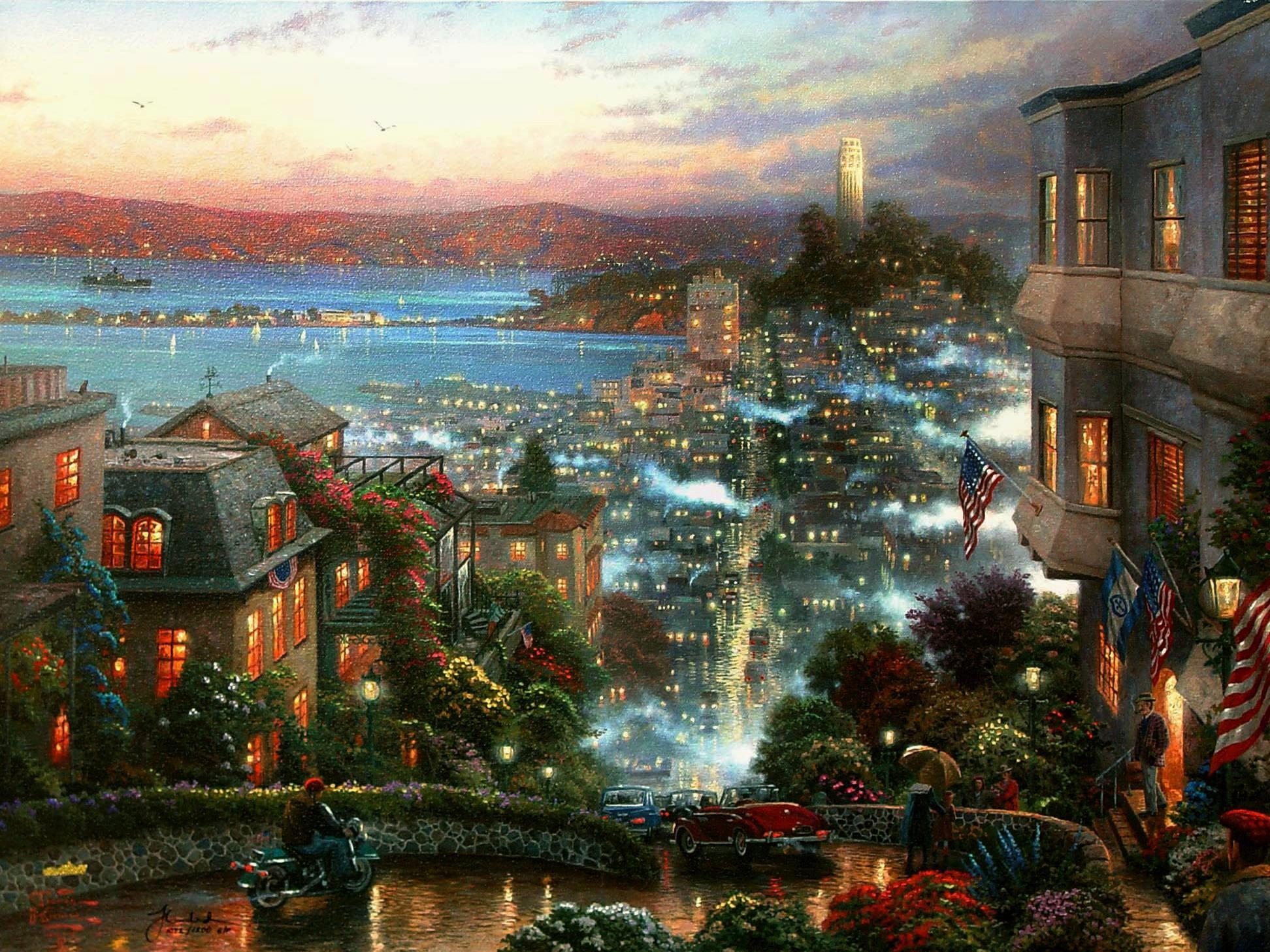 https://data12.gallery.ru/albums/gallery/5657-ac6e3-34423556-.jpg | San  Francisco ~ The City by the Bay | Pinterest | Thomas kinkade and San  francisco