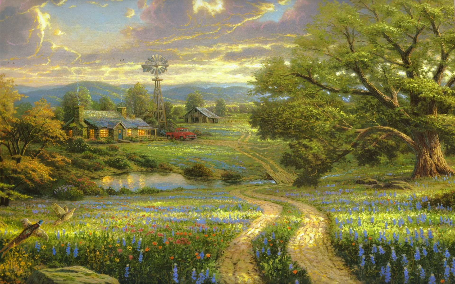 Thomas Kinkade Paintings 752378 …