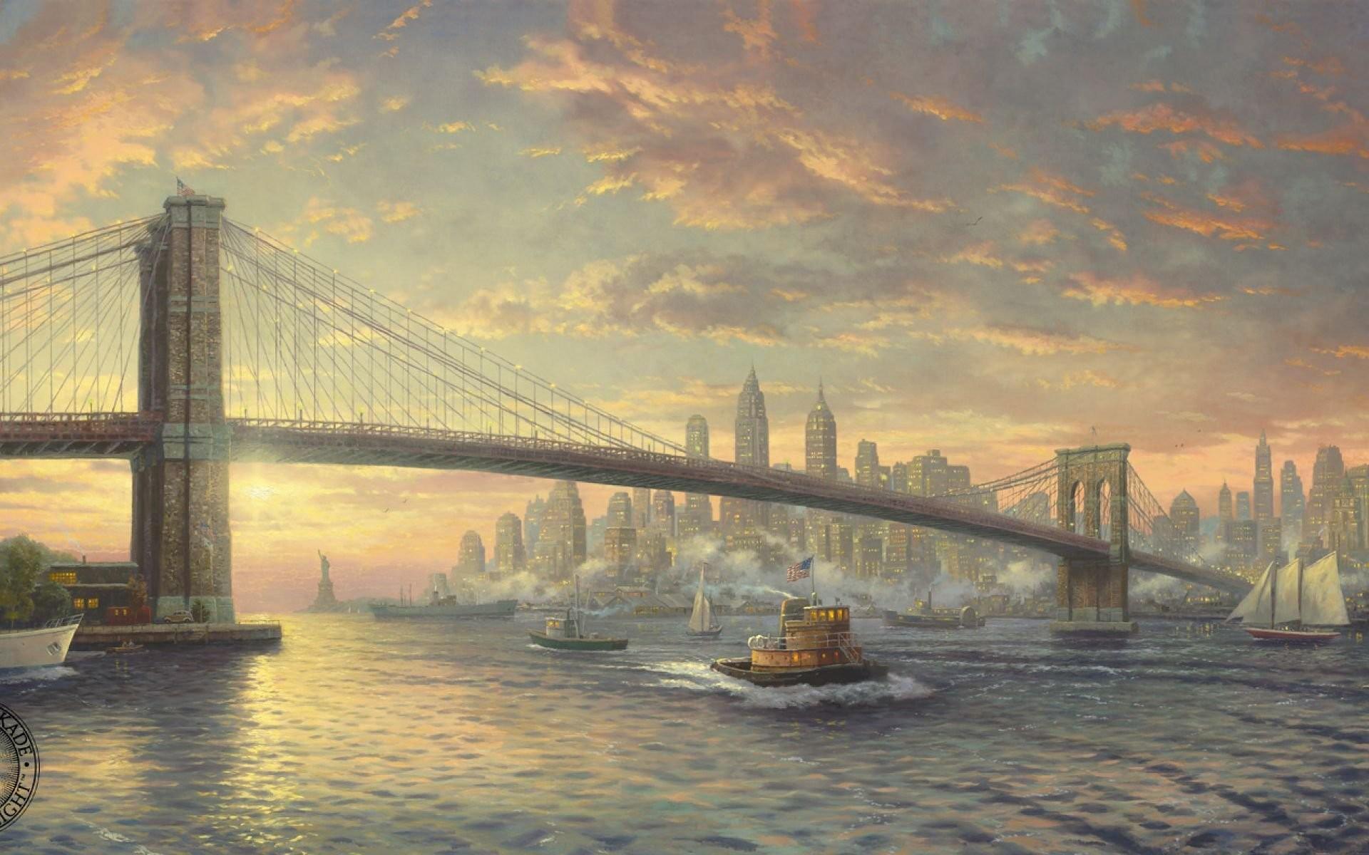 Thomas Kinkade The Spirit Of New York