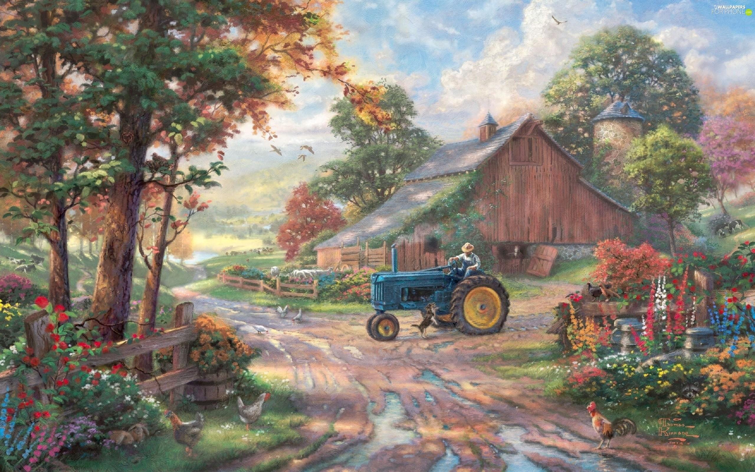 … Thomas Kinkade Thomas, Front Truck, Way, Kinkade, …