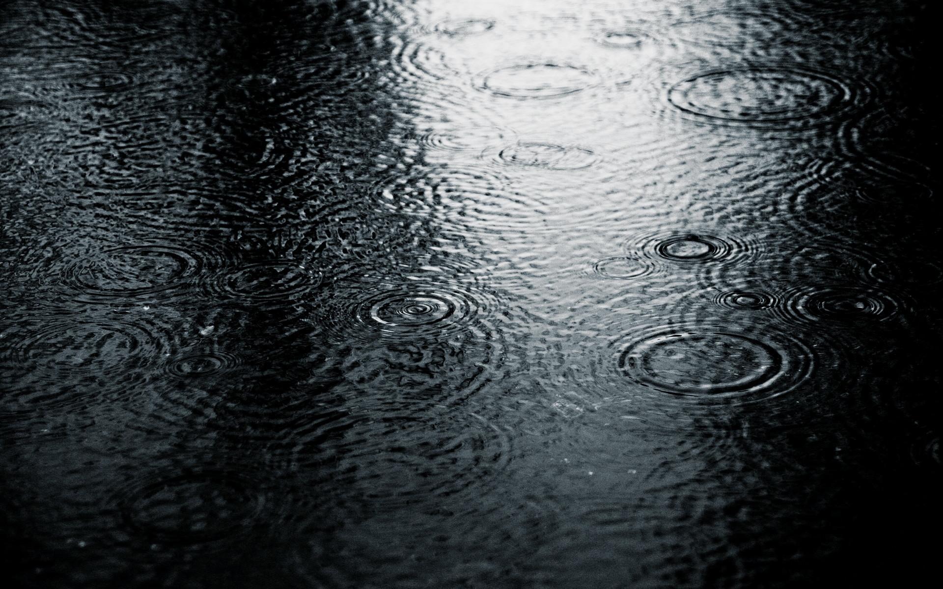 Rain Drops Desktop Wallpapers