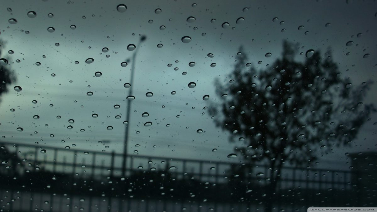 Rain Drops Hd Desktop Wallpaper High Definition Fullscreen