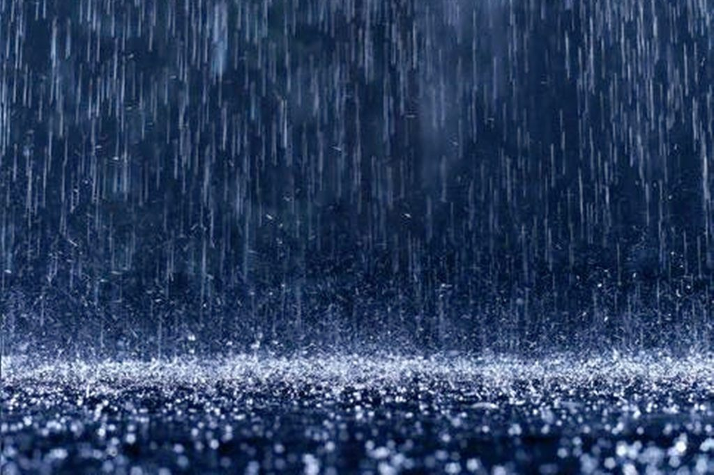 Rain Wallpaper in Night