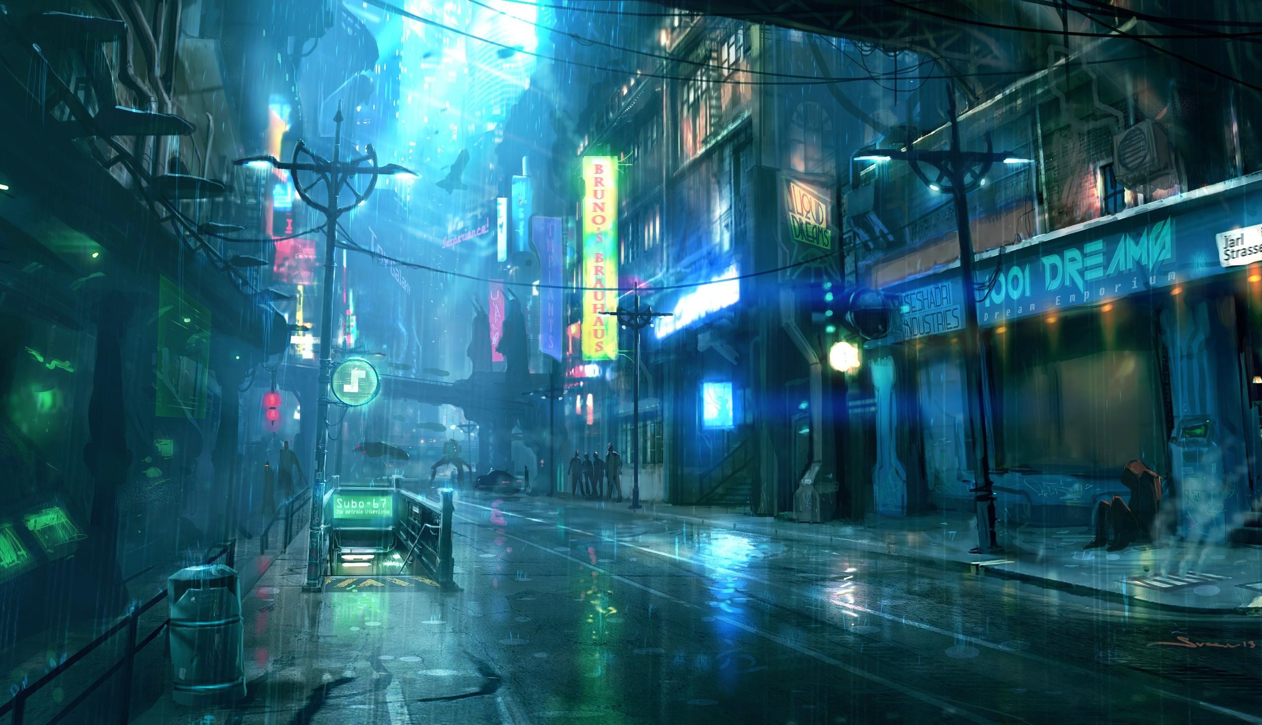 Rain City Wallpapers Desktop Background