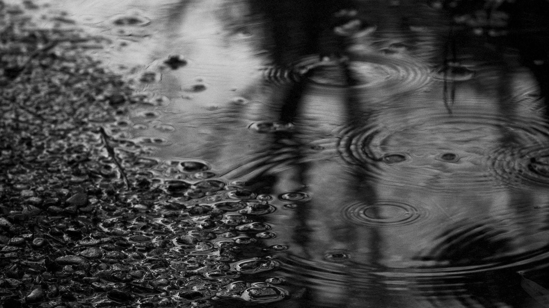 Wallpapers For > Raining Background Tumblr