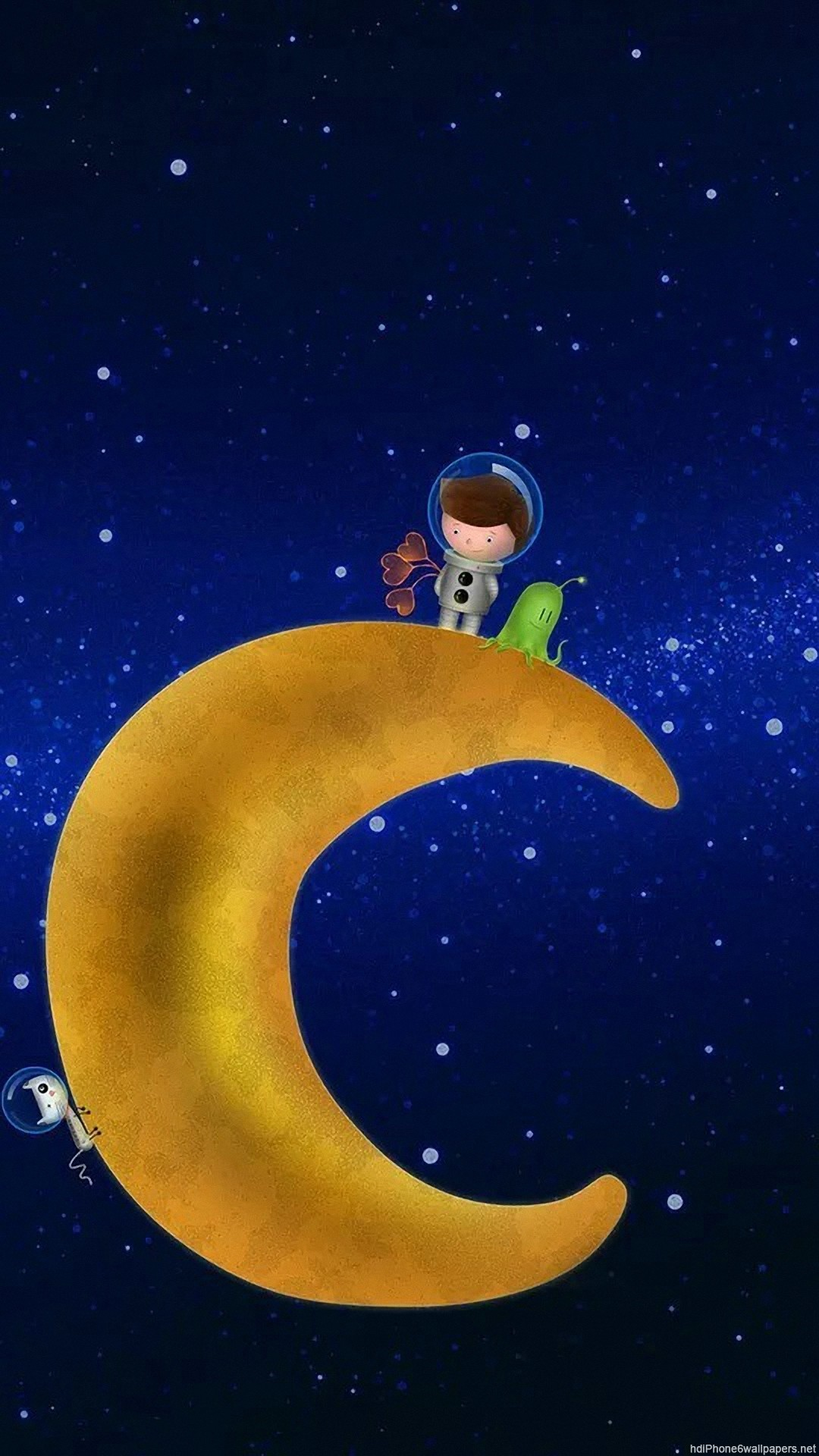 Download Moon And Stars Wallpaper Iphone Gif