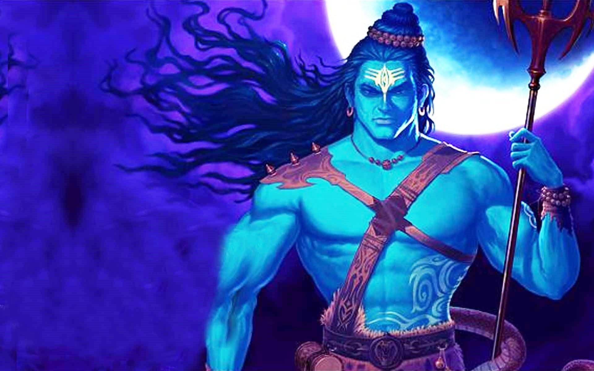 Lord Shiva animated full hd image
