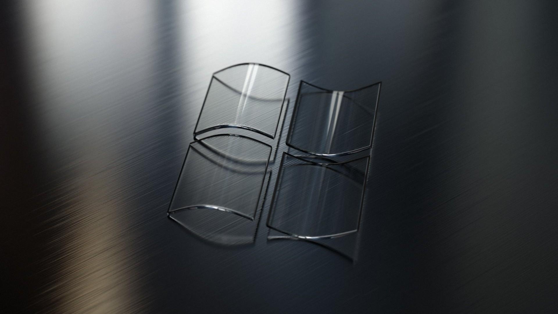 Wallpaper Windows, Icon, Logo, Glass