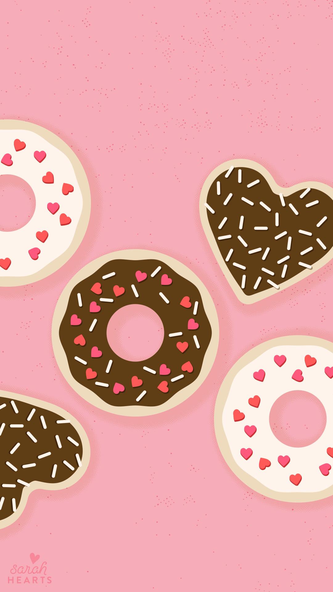 Pink Sweet Chocolate iPhone Wallpaper Home Screen @PanPins