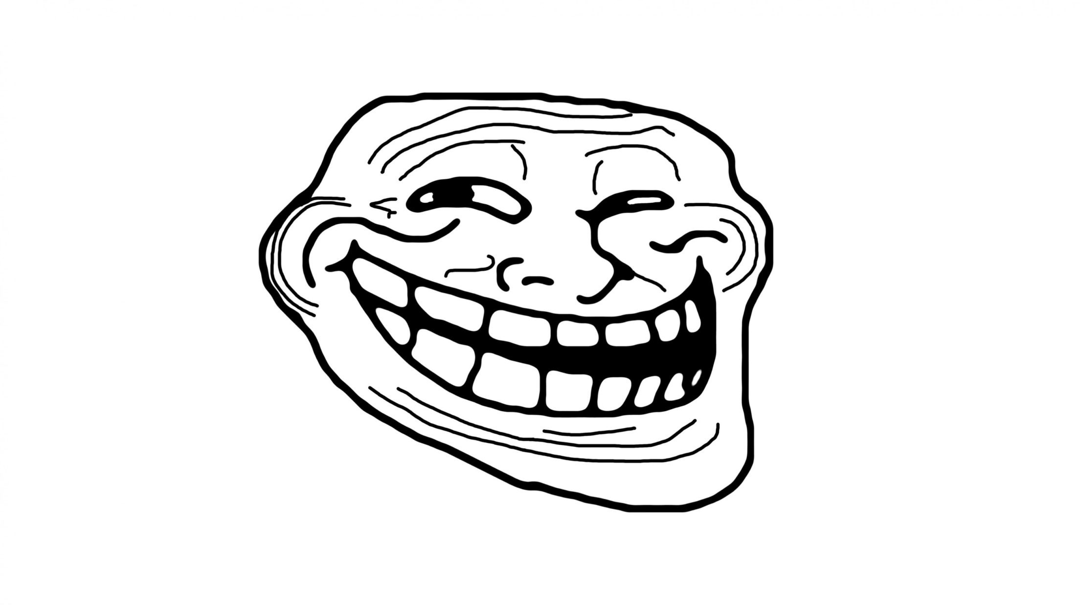 troll face meme desktop & mobile hd wallpapers